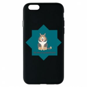 Phone case for iPhone 6/6S Dog - PrintSalon