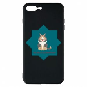 Phone case for iPhone 8 Plus Dog