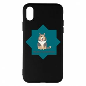 Phone case for iPhone X/Xs Dog