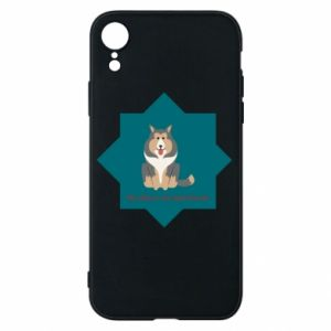 Phone case for iPhone XR Dog