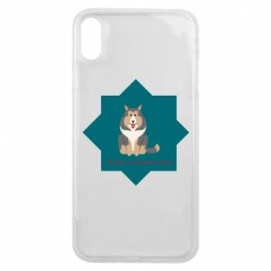Phone case for iPhone Xs Max Dog