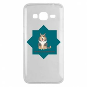 Phone case for Samsung J3 2016 Dog