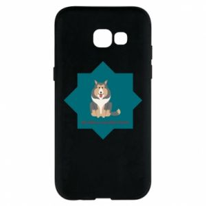 Phone case for Samsung A5 2017 Dog