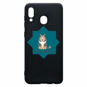 Phone case for Samsung A20 Dog