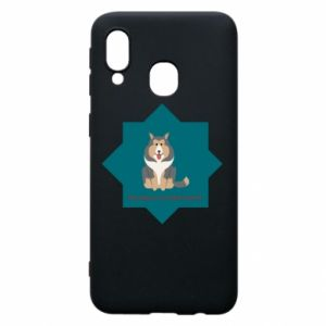 Phone case for Samsung A40 Dog