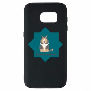 Phone case for Samsung S7 Dog
