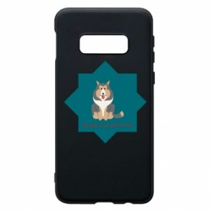 Phone case for Samsung S10e Dog