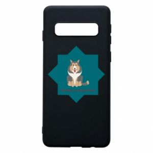 Phone case for Samsung S10 Dog
