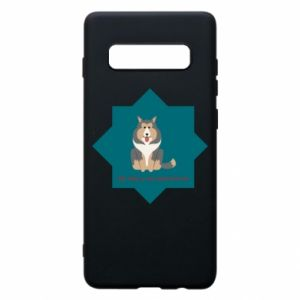 Phone case for Samsung S10+ Dog
