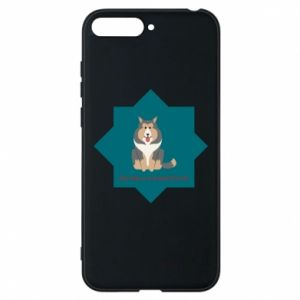 Phone case for Huawei Y6 2018 Dog
