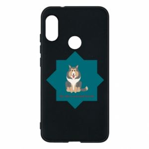 Phone case for Mi A2 Lite Dog