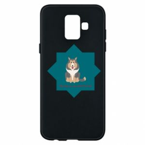 Phone case for Samsung A6 2018 Dog