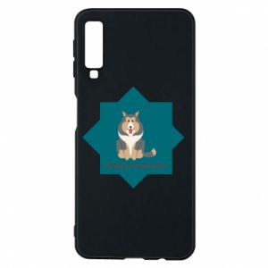 Phone case for Samsung A7 2018 Dog
