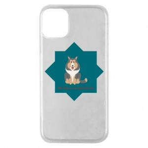 Phone case for iPhone 11 Pro Dog