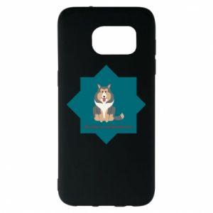 Samsung S7 EDGE Case Dog