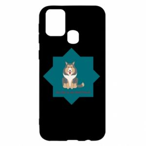Samsung M31 Case Dog
