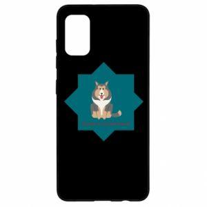 Samsung A41 Case Dog