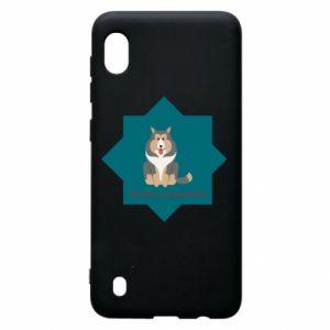 Samsung A10 Case Dog
