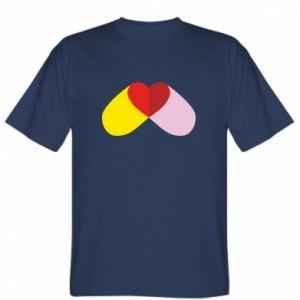 T-shirt Heart pill