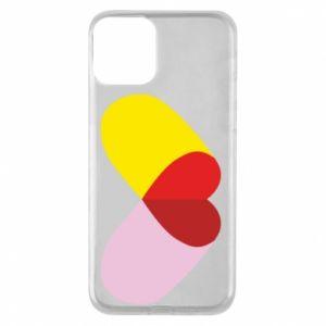 iPhone 11 Case Heart pill