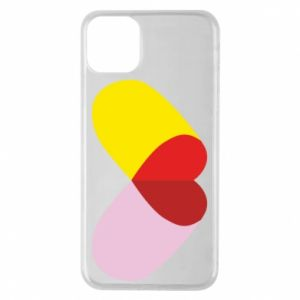 iPhone 11 Pro Max Case Heart pill