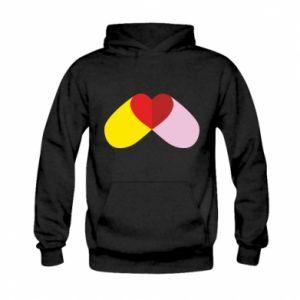Kid's hoodie Heart pill