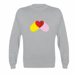 Kid's sweatshirt Heart pill