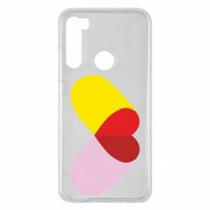 Xiaomi Redmi Note 8 Case Heart pill