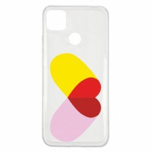 Xiaomi Redmi 9c Case Heart pill
