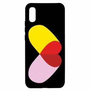Xiaomi Redmi 9a Case Heart pill