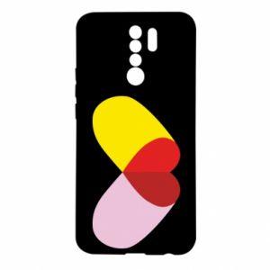 Xiaomi Redmi 9 Case Heart pill