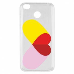 Xiaomi Redmi 4X Case Heart pill