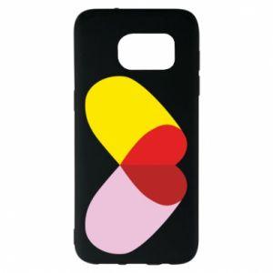 Samsung S7 EDGE Case Heart pill