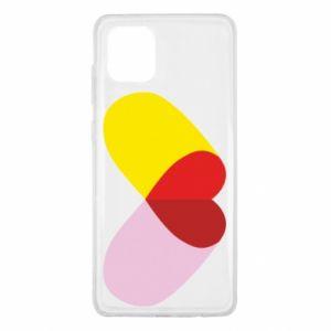 Samsung Note 10 Lite Case Heart pill