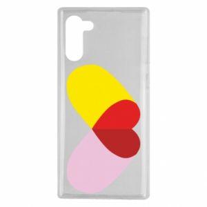 Samsung Note 10 Case Heart pill