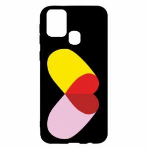 Samsung M31 Case Heart pill