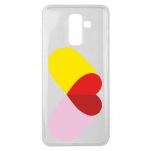 Samsung J8 2018 Case Heart pill