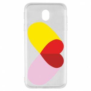 Samsung J7 2017 Case Heart pill