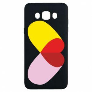Samsung J7 2016 Case Heart pill