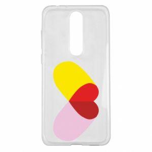 Nokia 5.1 Plus Case Heart pill