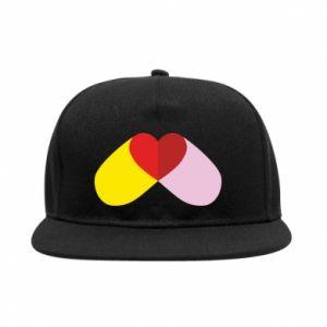 SnapBack Heart pill