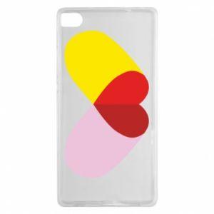 Huawei P8 Case Heart pill