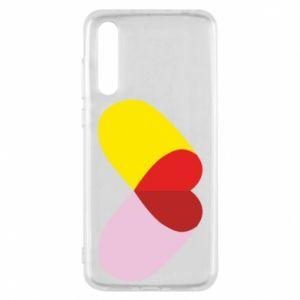 Huawei P20 Pro Case Heart pill