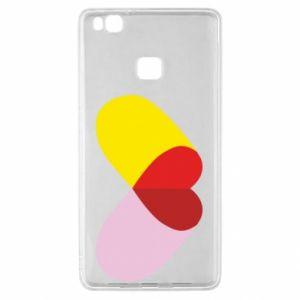 Huawei P9 Lite Case Heart pill