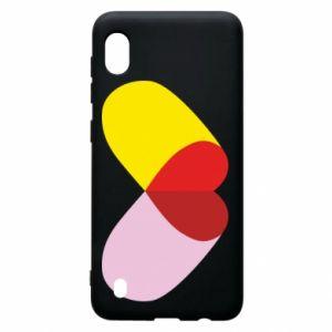 Samsung A10 Case Heart pill