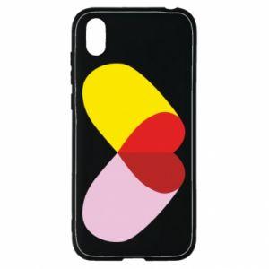 Huawei Y5 2019 Case Heart pill