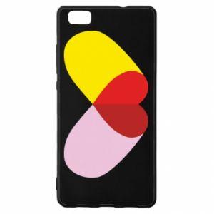 Huawei P8 Lite Case Heart pill