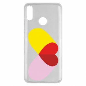Huawei Y9 2019 Case Heart pill