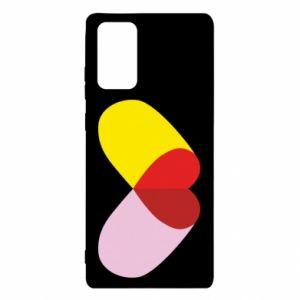 Samsung Note 20 Case Heart pill