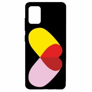 Samsung A51 Case Heart pill